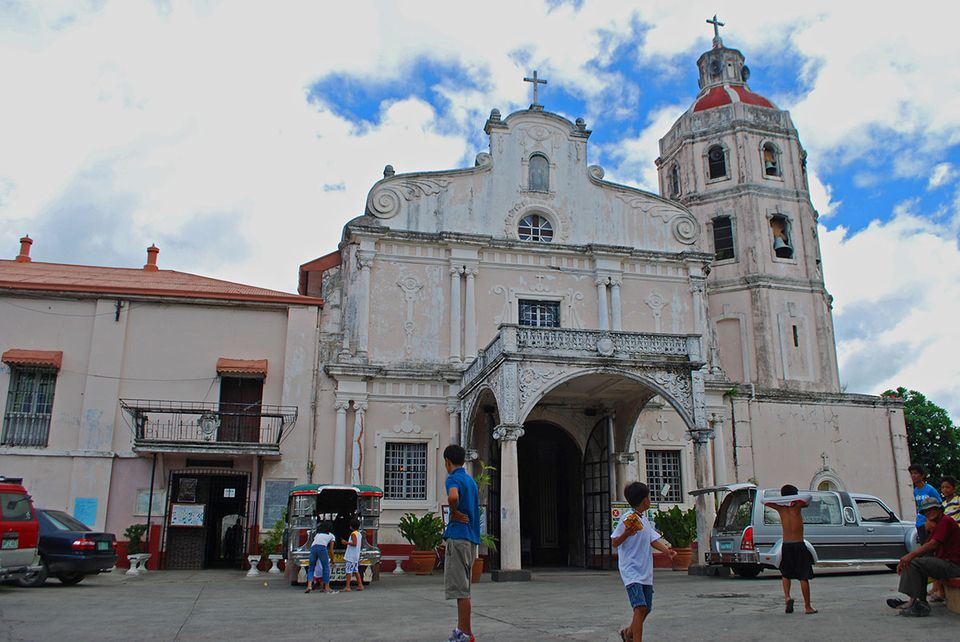 Exterior of Betis Church, Pampanga, Philippines