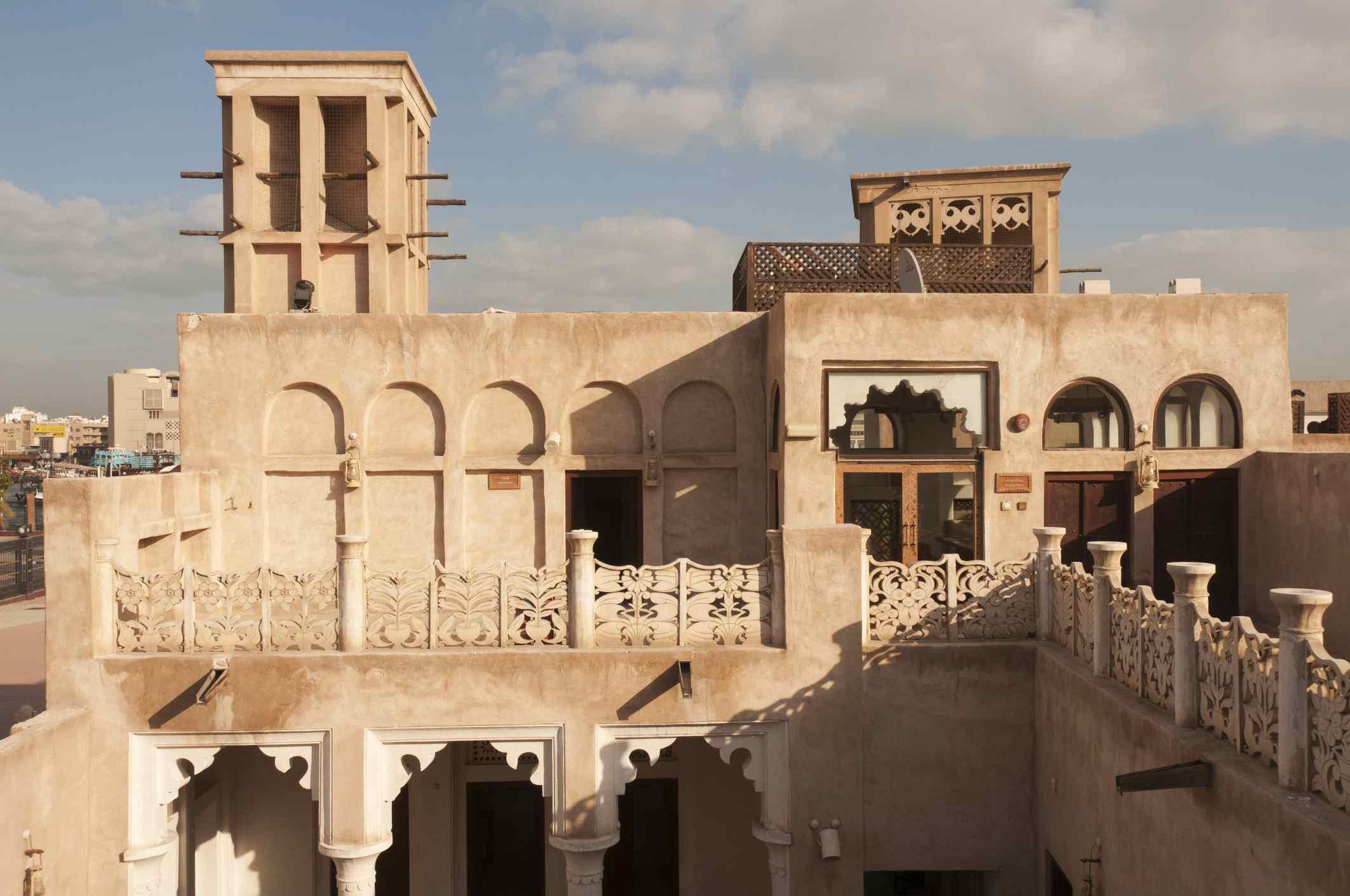 Architectural Heritage House, Bastakiya quarter.