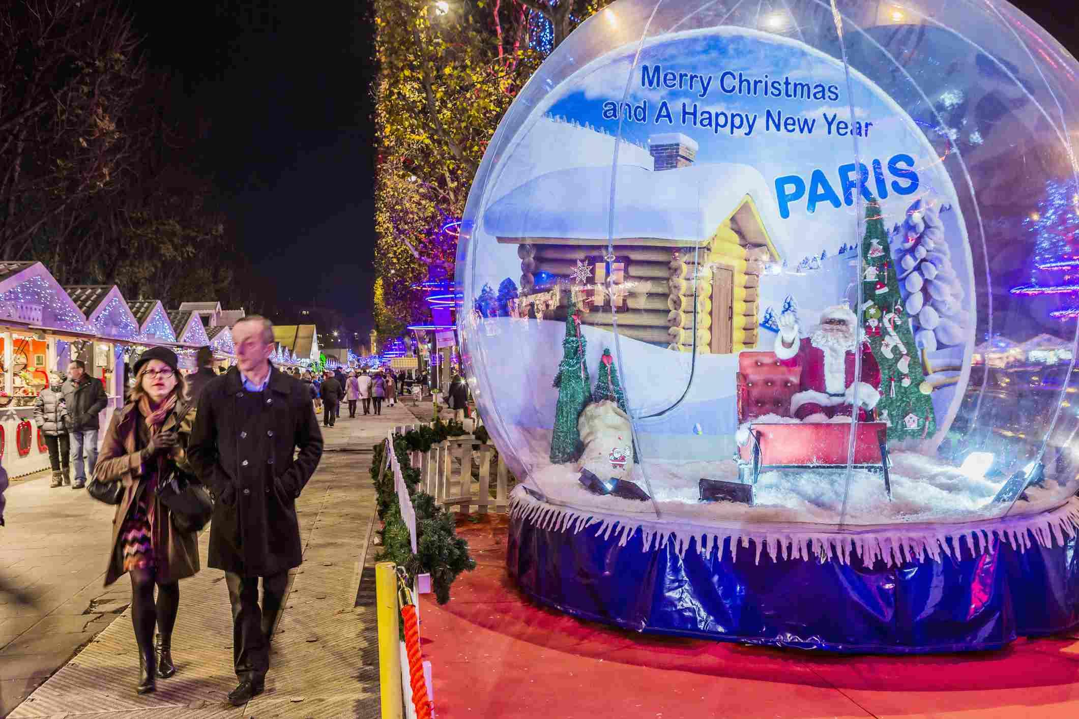 Merry Christmas from Paris (Christmas market)