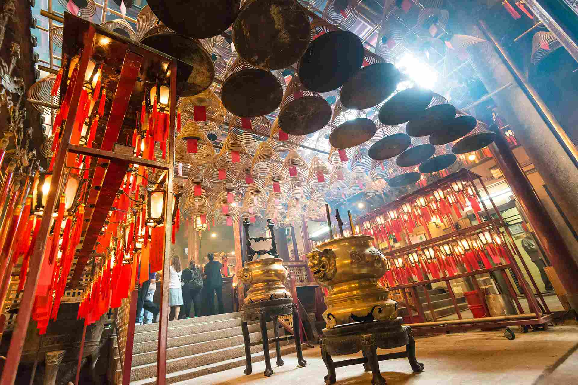 Man Mo Temple interior