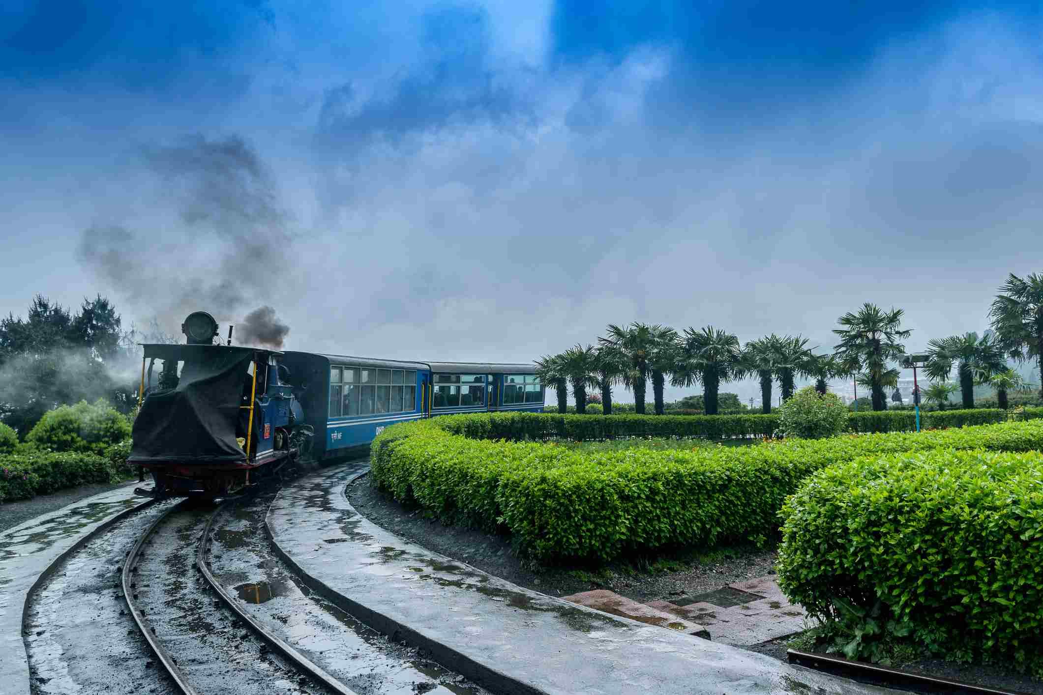 Darjeeling toy train.