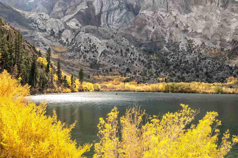 June Lake in the fall