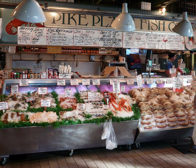 Pike Place Fish Company in Pike Place Market