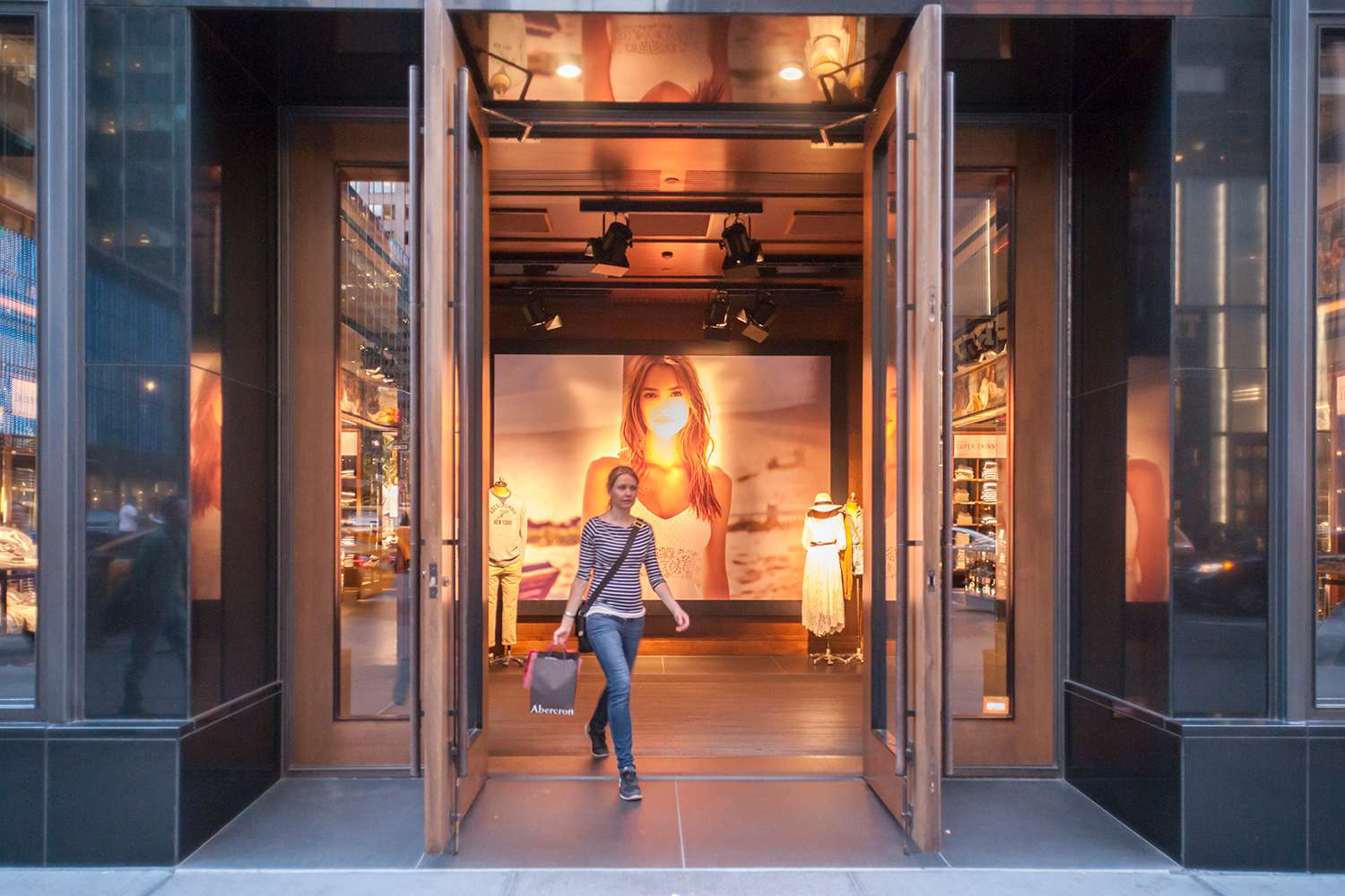 Abercrombie & Fitch NYC flagship