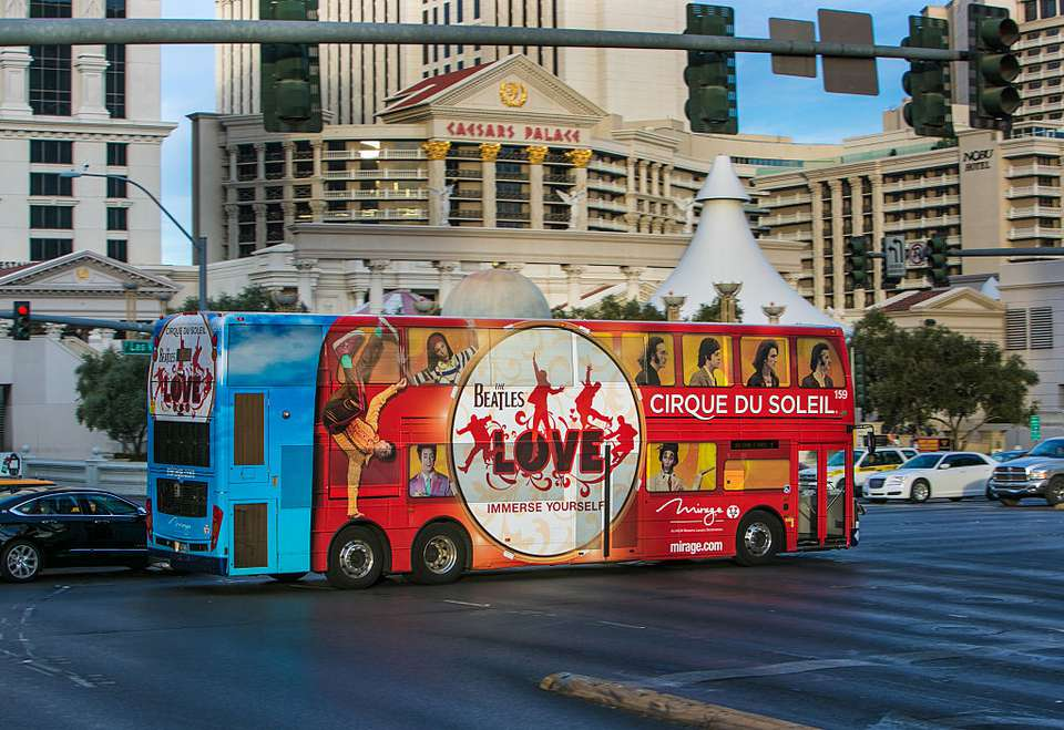 Bus on the Strip