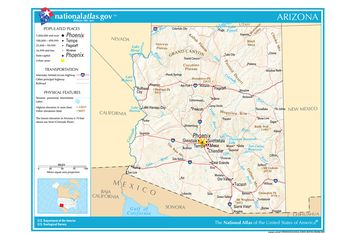 Map Of Asu Campus Locations In Greater Phoenix Az