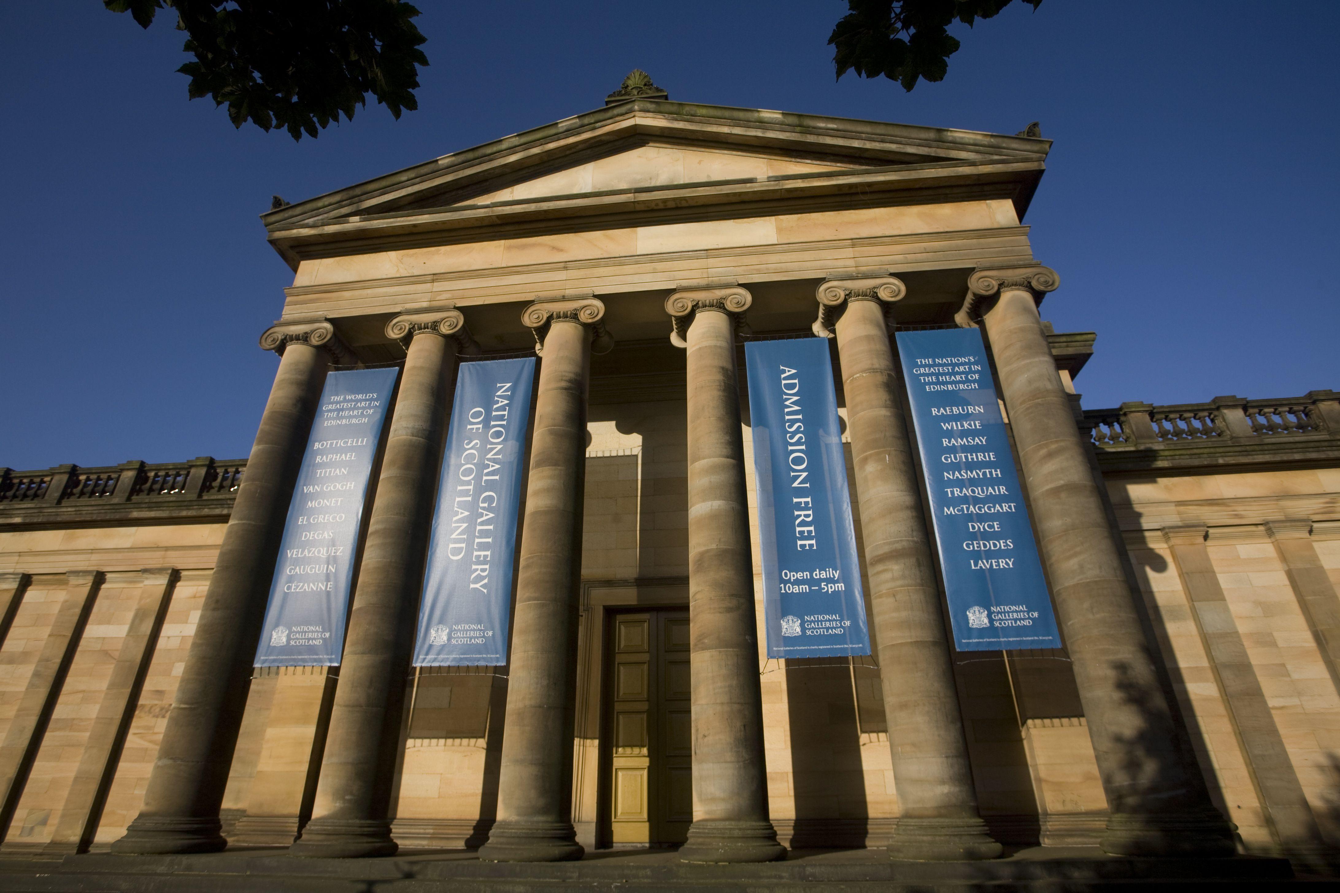 Scotland\'s 3 National Galleries in Edinburgh