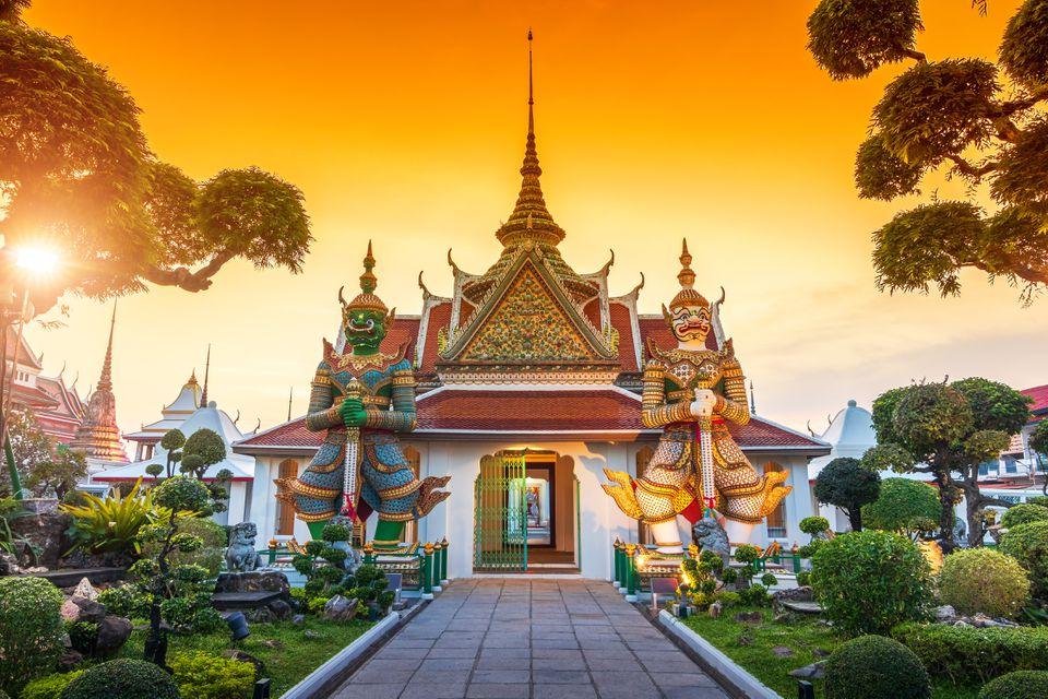 Wat Arun, a temple in Bangkok, Thailand