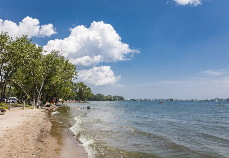 Cherry Beach in Toronto