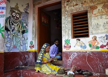 Raghurajpur, Odisha.