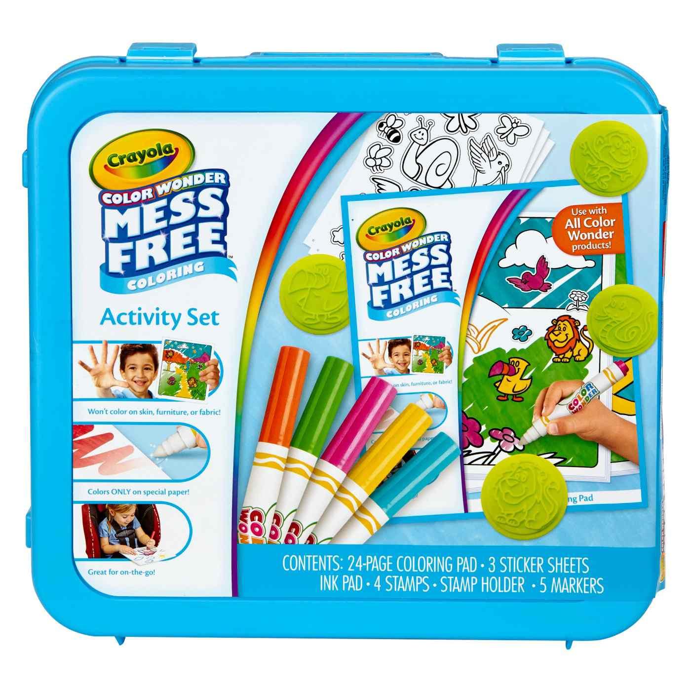 Crayola® Color Wonder Mess Free ™ Set de actividades para colorear