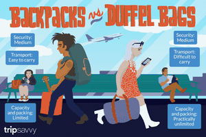 backpacks vs duffel bags