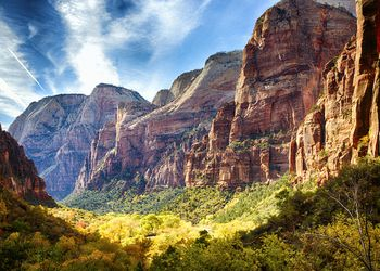 The stunning landscapes of Zion National Park