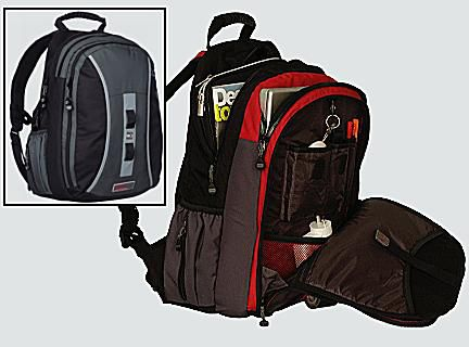 Best Laptop Backpack 2006 - Great Flashpacker Backpack From STM