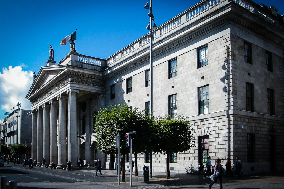 Dublin's General Post Office - a central and impressive building, but not really a strategic objective to die for