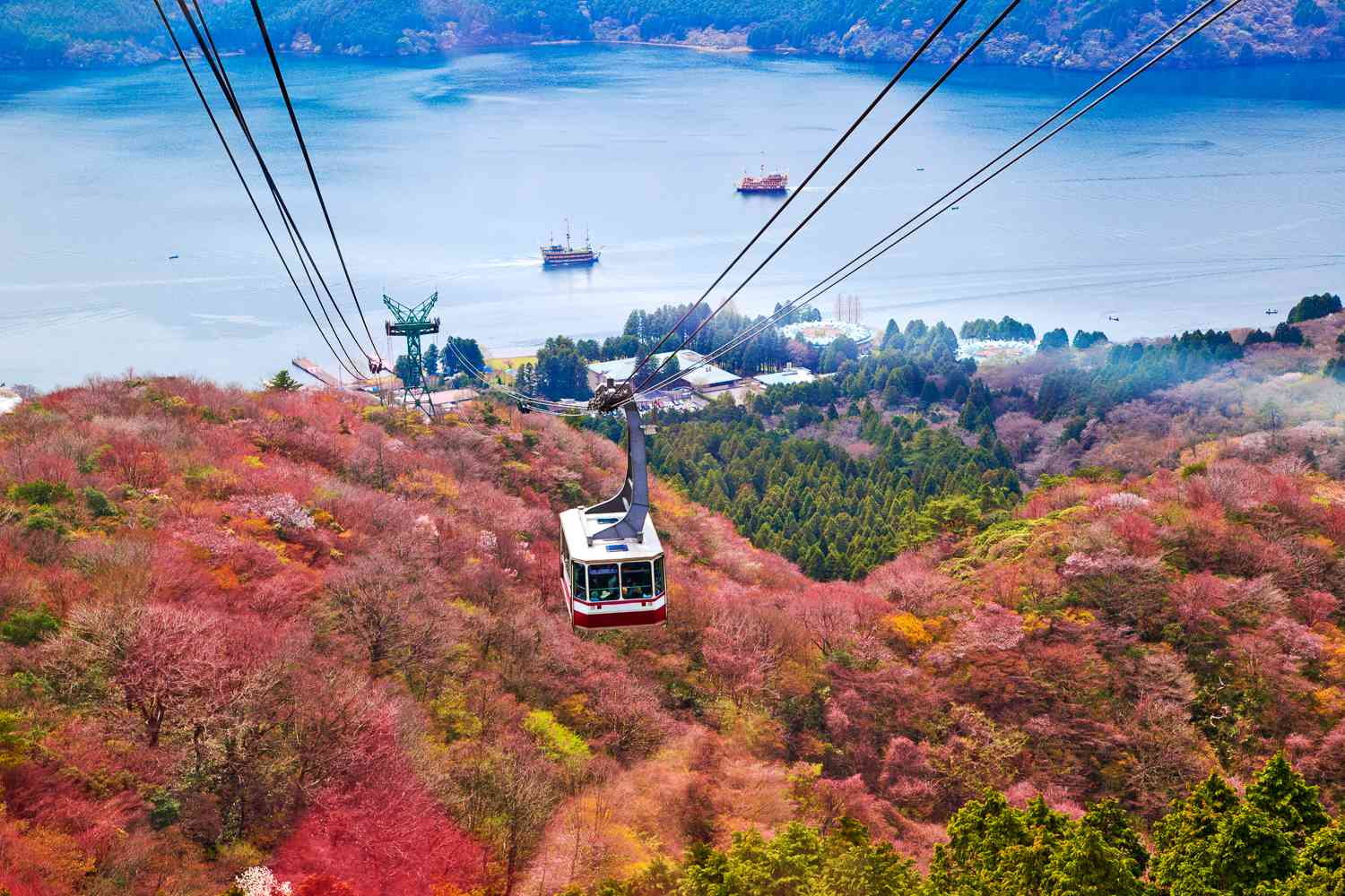 Cable Car in Hakone