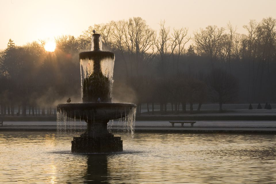 Gardens Chateau-de-Fontainebleau