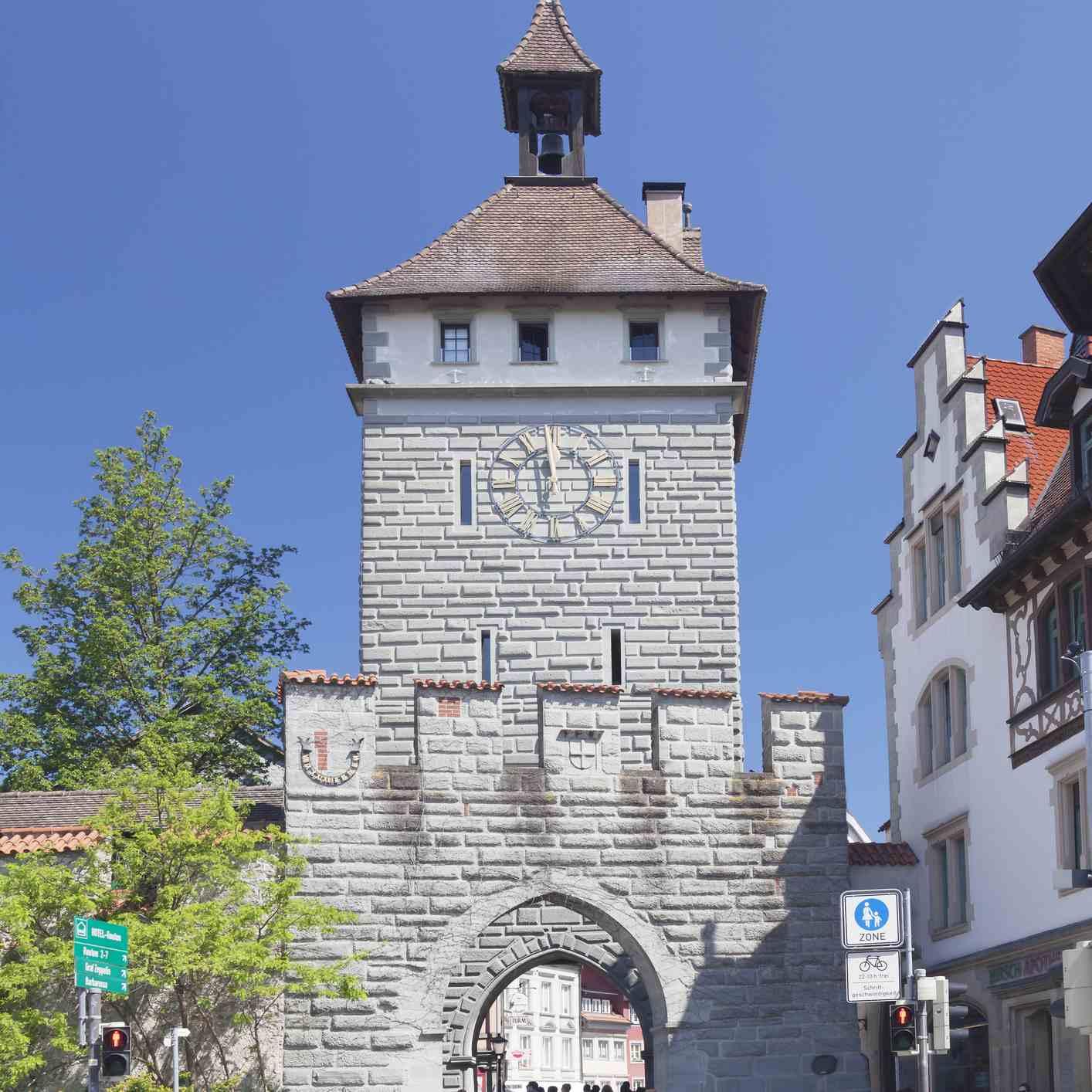 Schnetztor, one of the City Gates in Konstanz