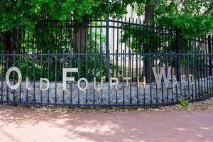 Old Fourth Ward sign, Atlanta