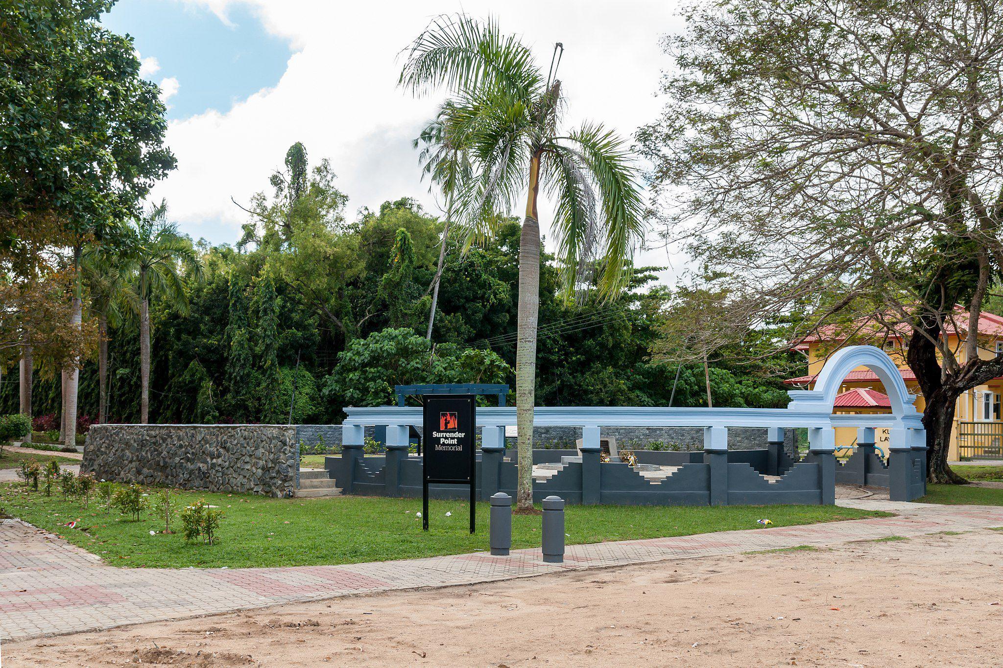 Labuan Malaysia Surrender Point Memorial