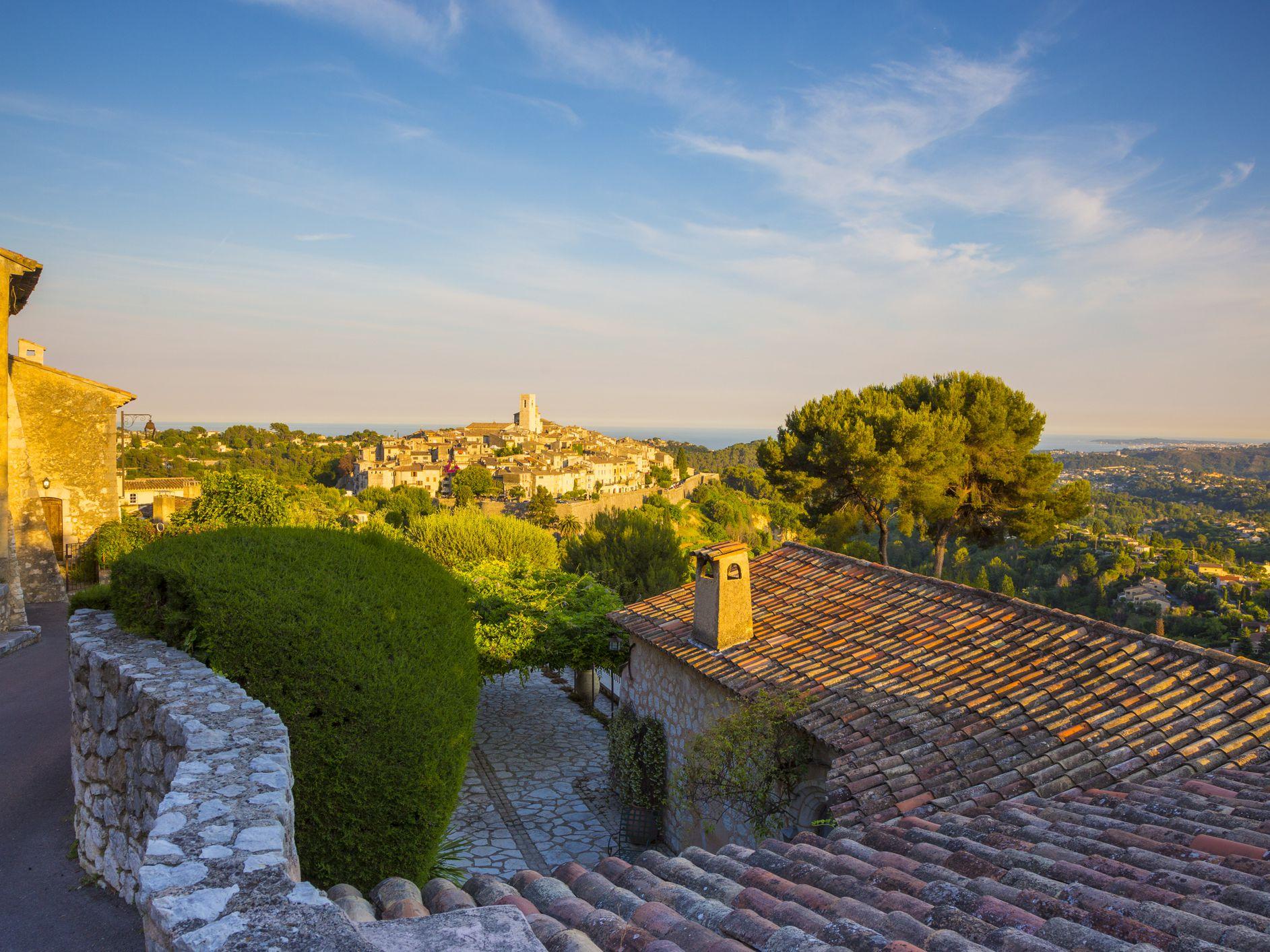 Saint Paul De Vence Art the fortified village of st paul de vence in provence