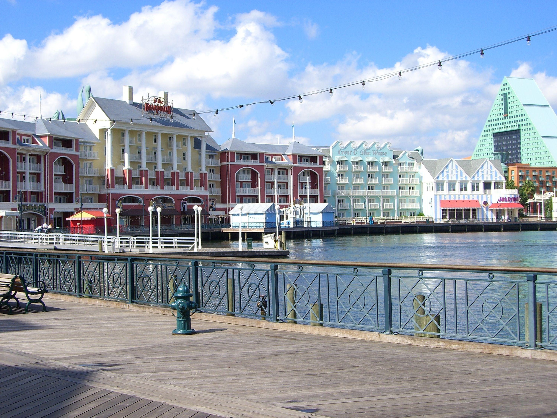 View of Walt Disney World's Boardwalk