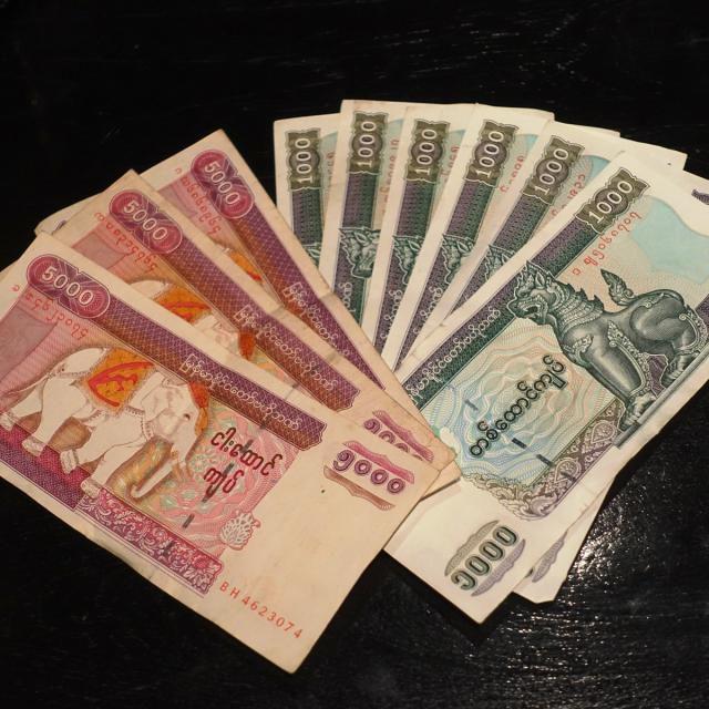 Myanmar Kyat Banknotes