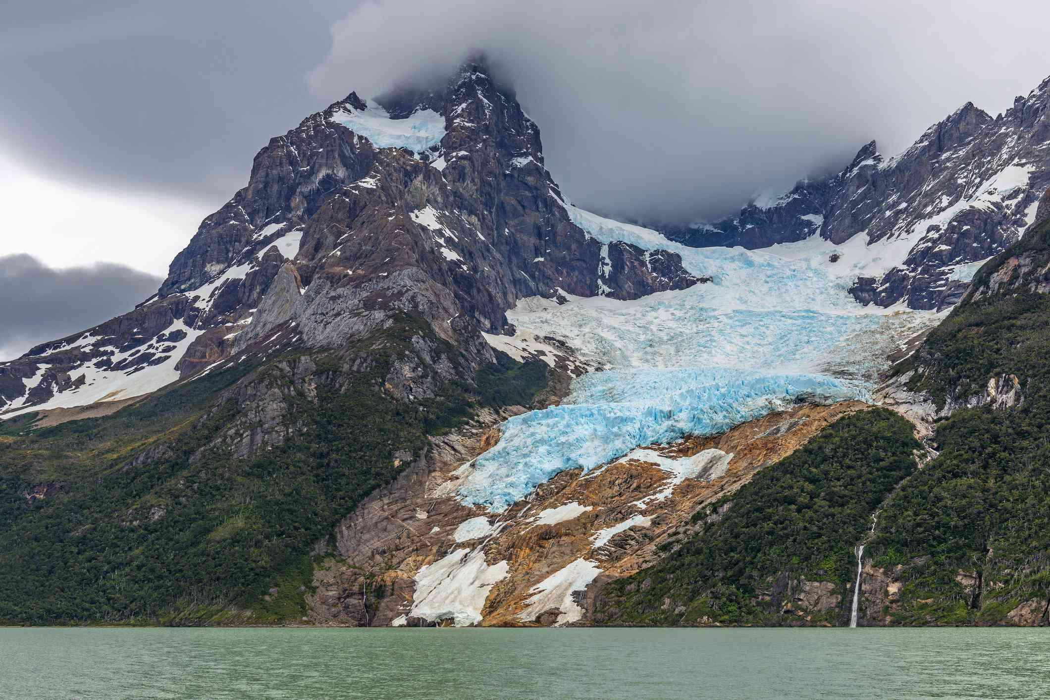 Balmaceda Glacier in Patagonia, Chile