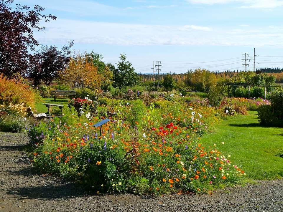 alaska gardens - Alaska Botanical Garden