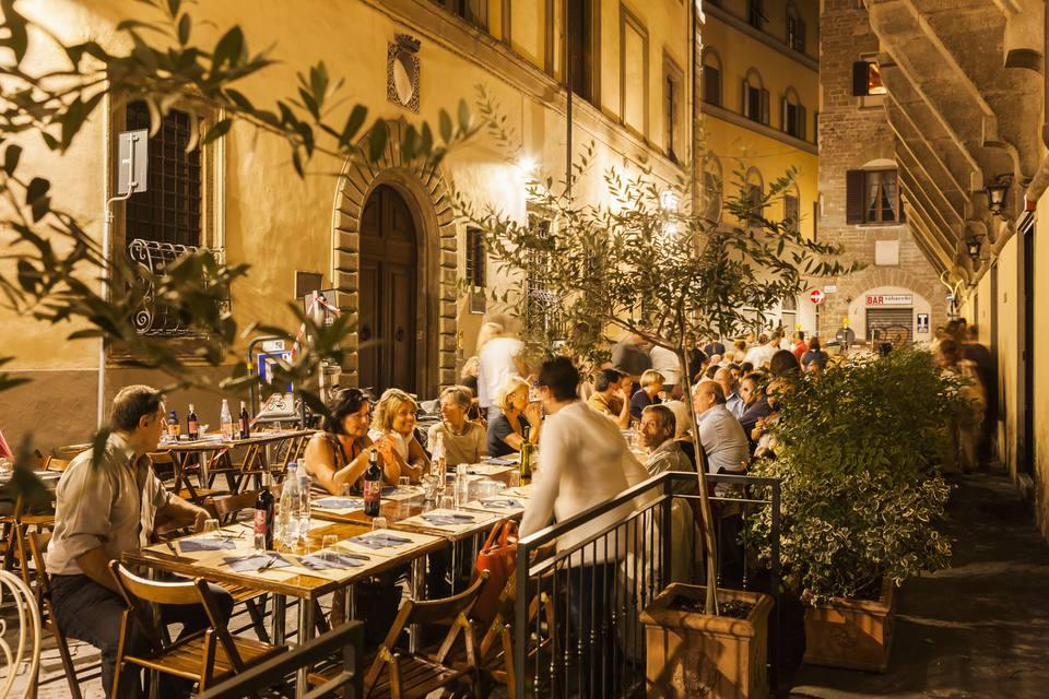 Dinner al Fresco in Florence