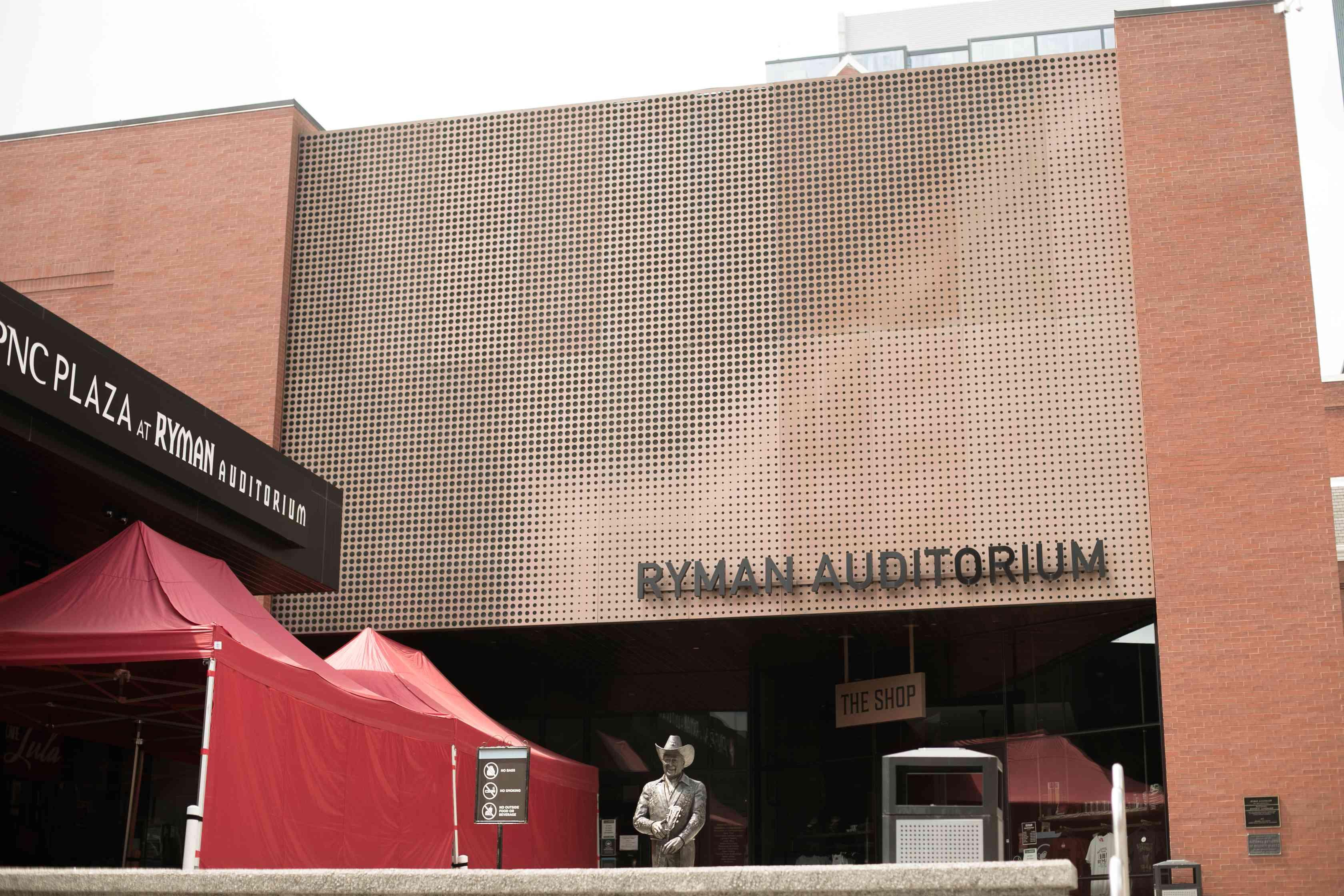 Nashville's Ryman Auditorium