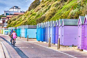 Beach huts at Bournemouth, Dorset
