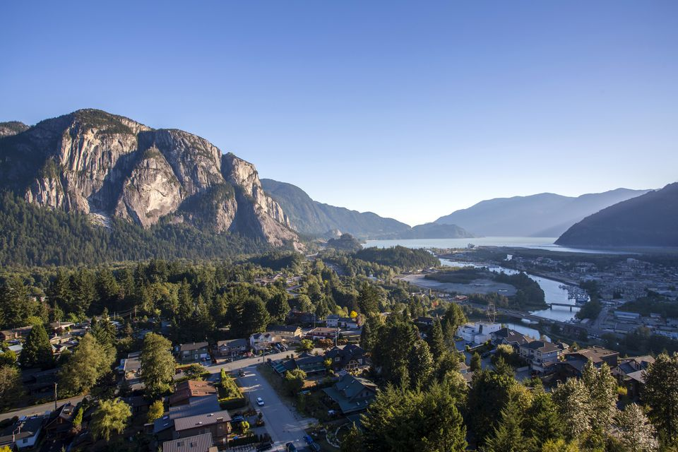 Stawamus Chief Provincial Park Squamish British Columbia