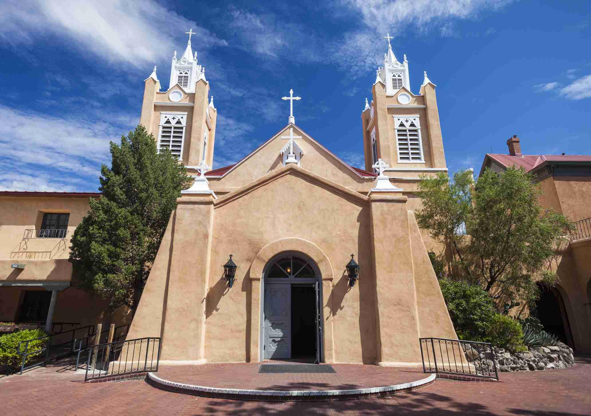 Iglesia de San Felipe De Neri en Albuquerque, Nuevo México