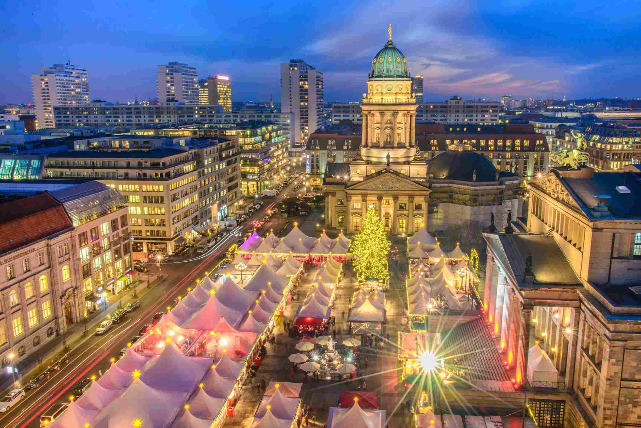 German Christmas Market.Top German Christmas Traditions