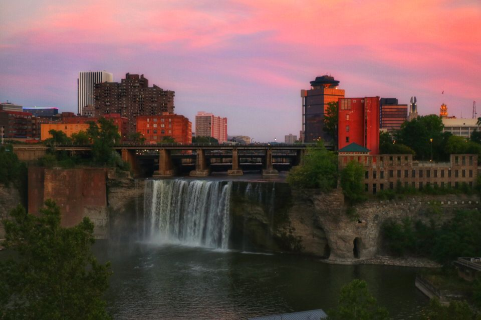 High Falls in Rochester NY