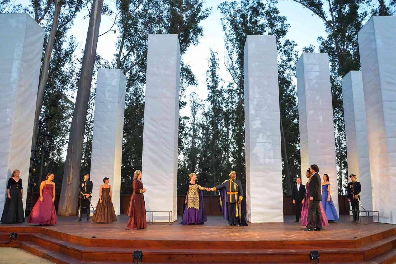 Hamlet at Santa Cruz Shakespeare