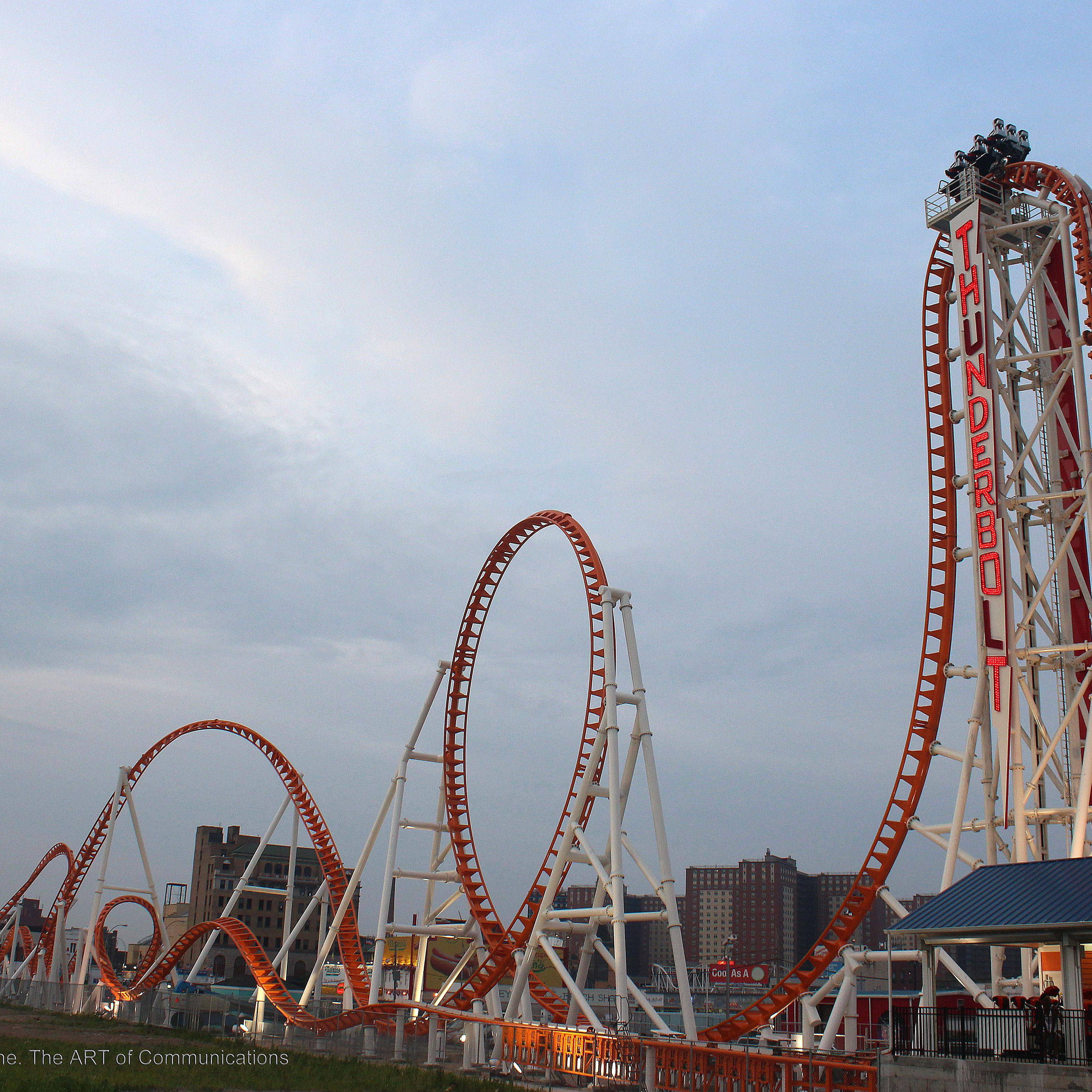 Thunderbolt Review Of Coney Island Roller Coaster