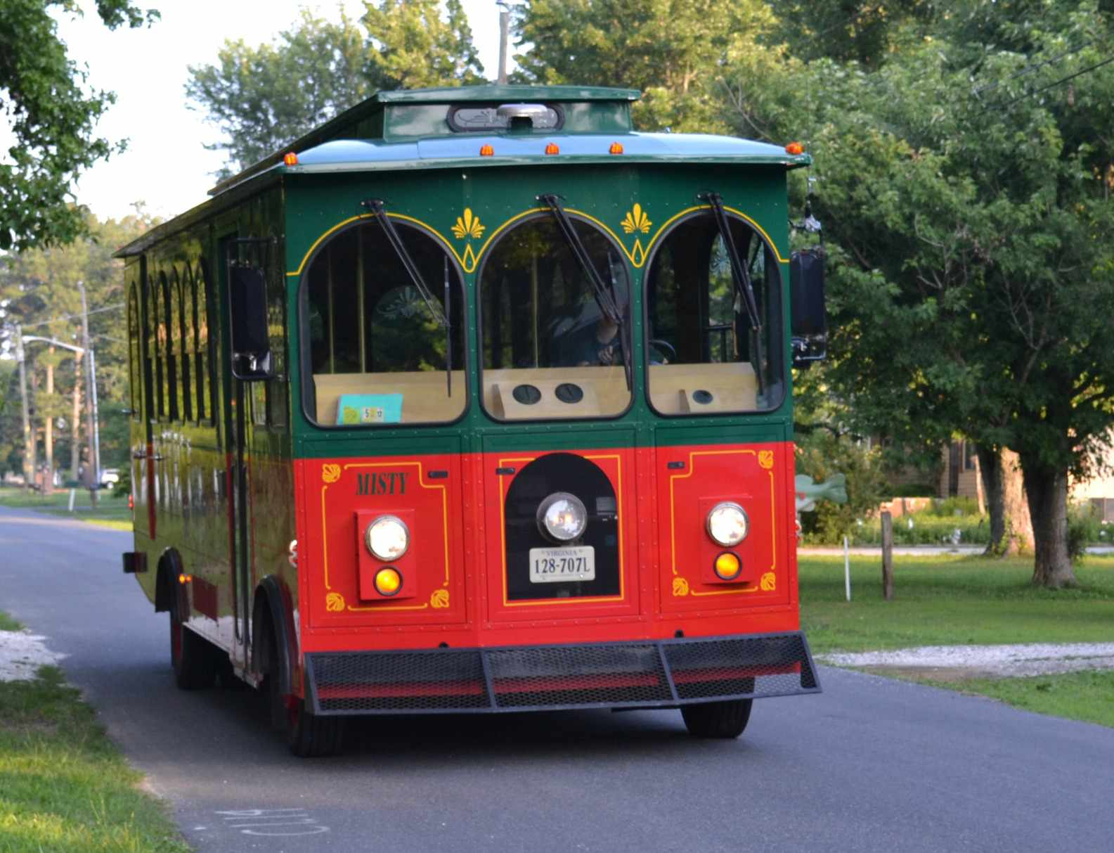 Chincoteague Pony Express Trolley