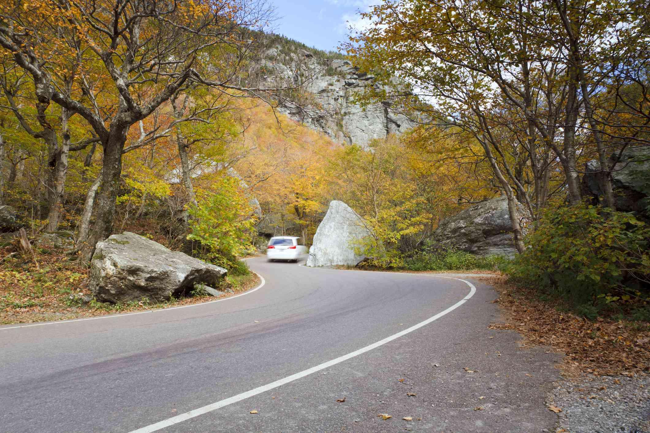 Smugglers' Notch Road, Jeffersonville, Vermont