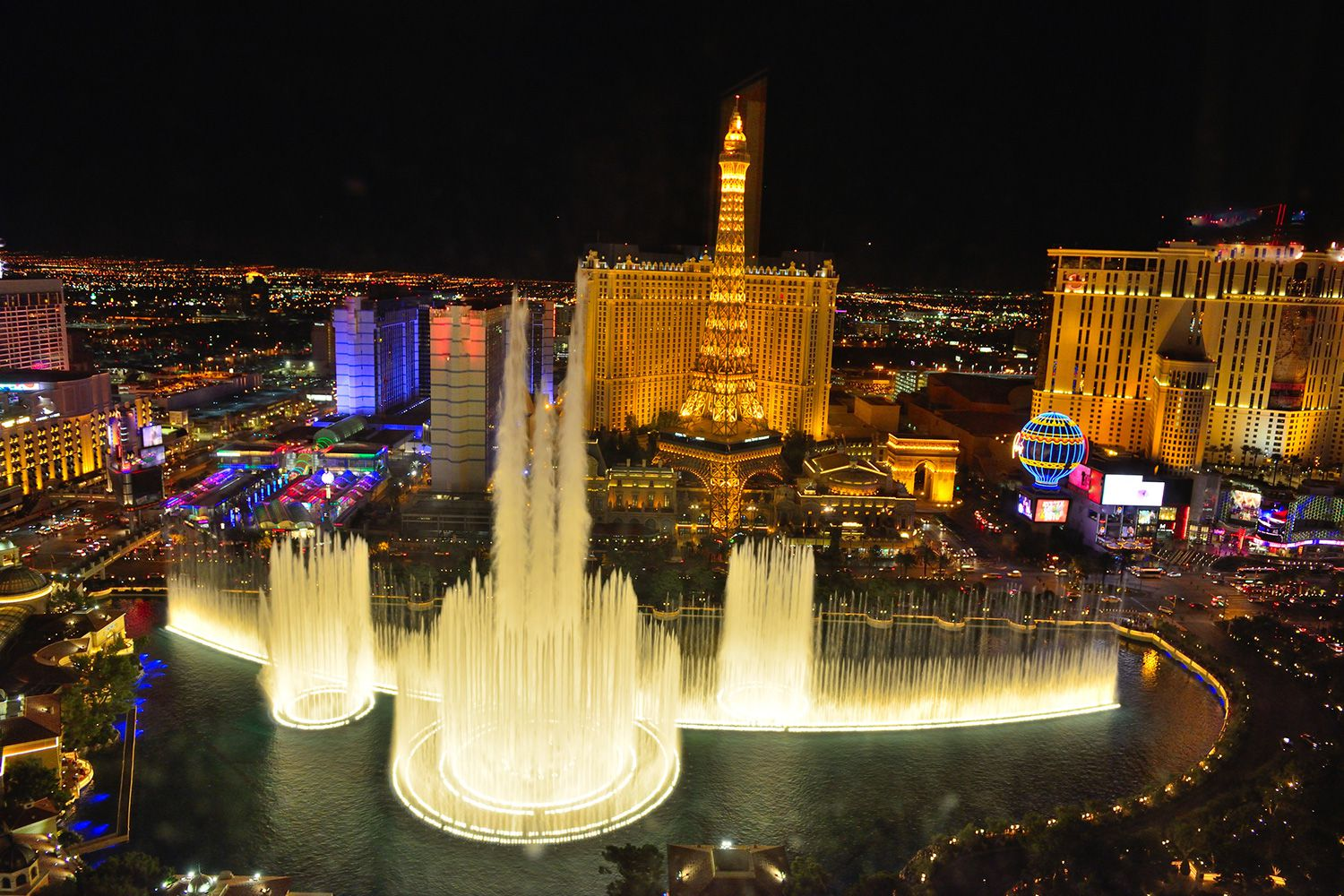 Music And Songs Of Bellagio Fountains