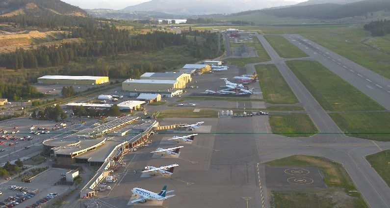 The Kelowna International Airport (YLW) is the major airport serving the Okanagan Valley and B.C.'s southern interior.