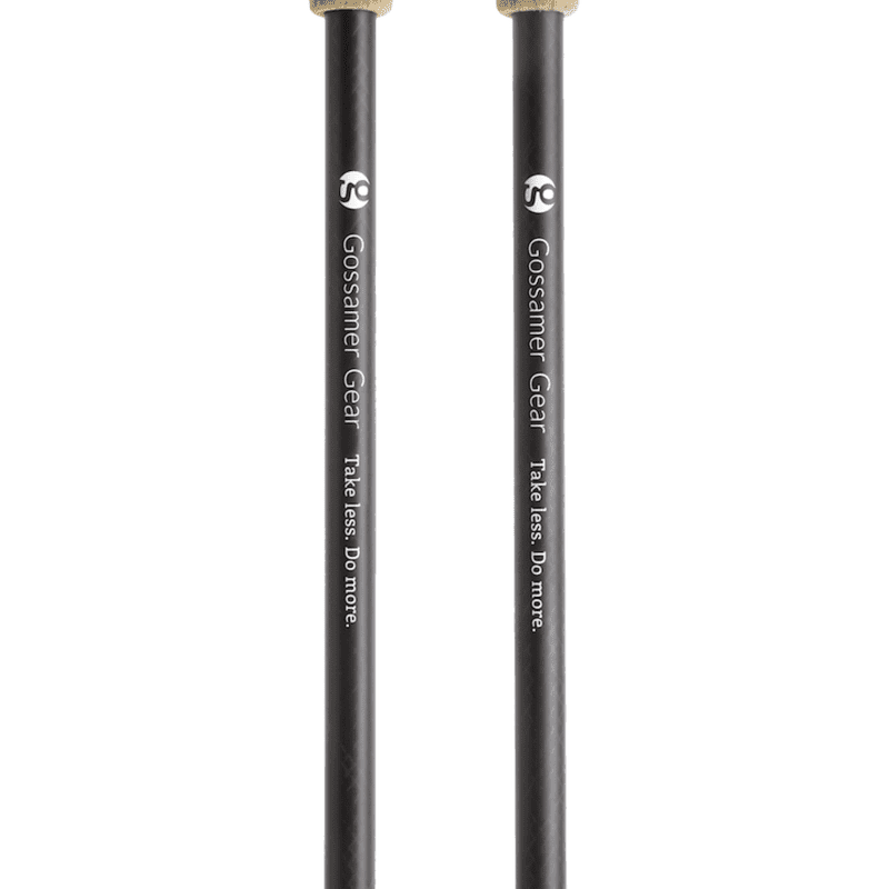 LT5 Three Piece Carbon Trekking Poles (pair)