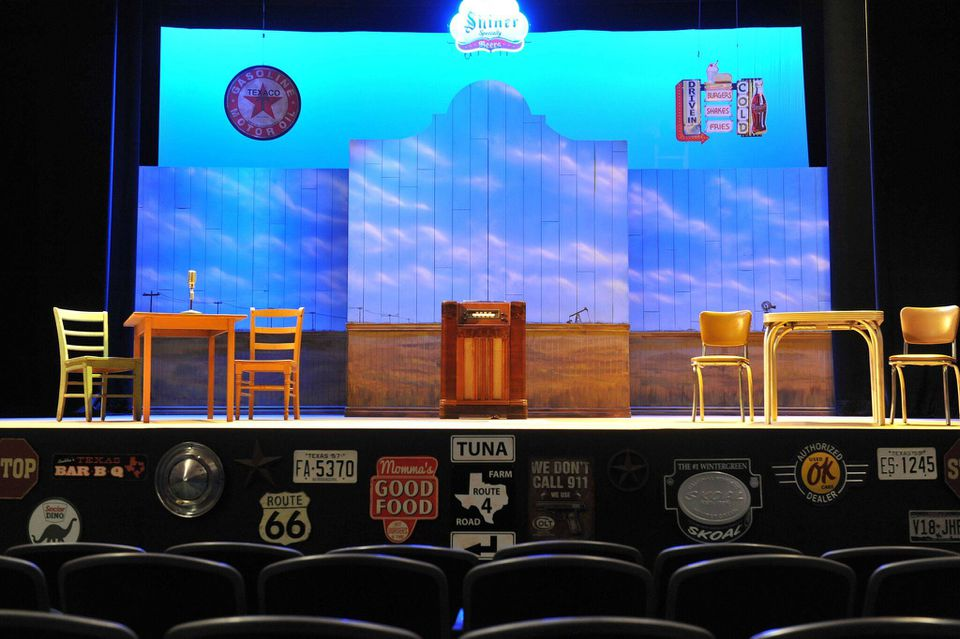 CityRep Oklahoma City Repertory Theatre stage