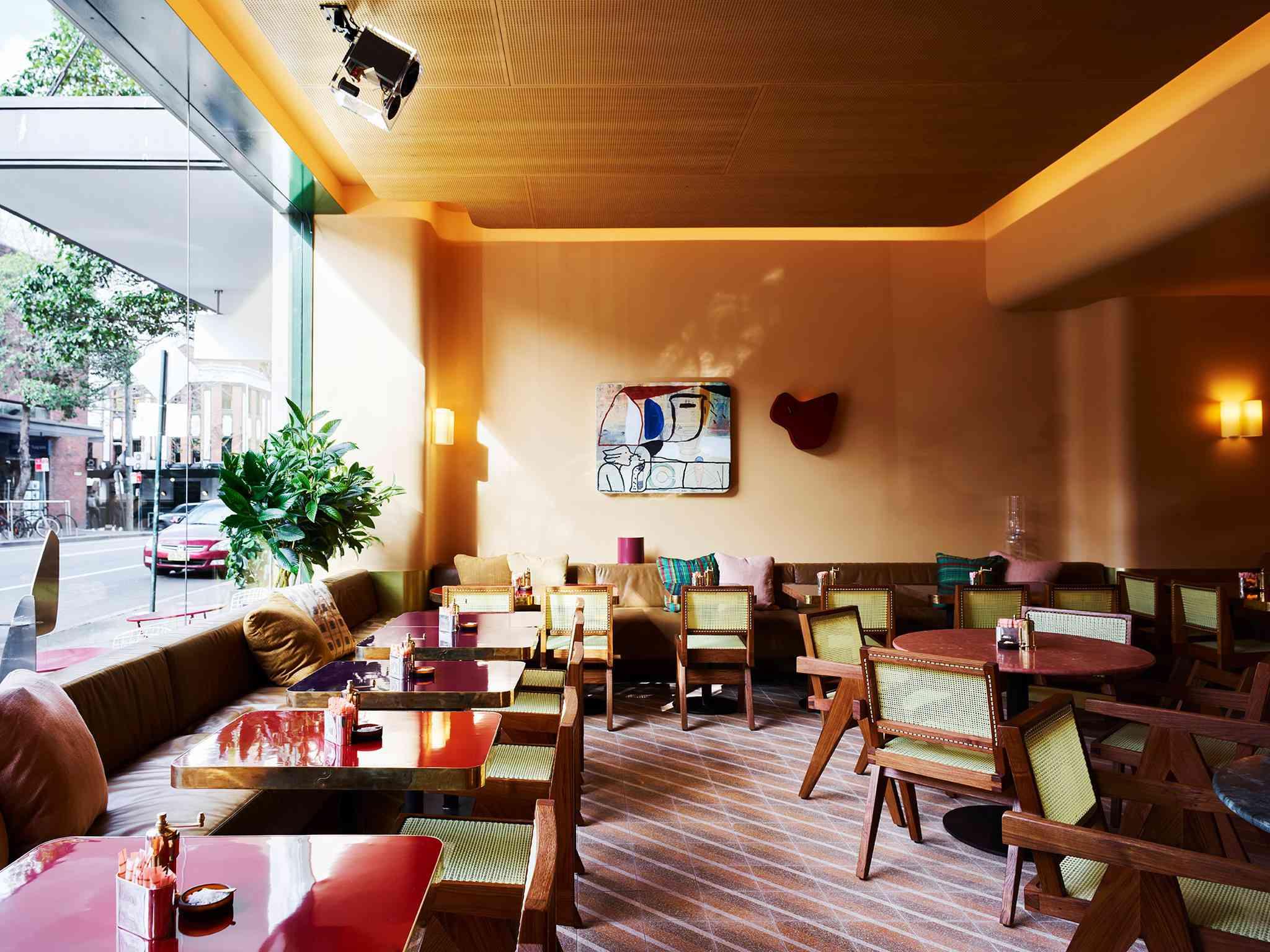 Dining room at Bills Surry Hills