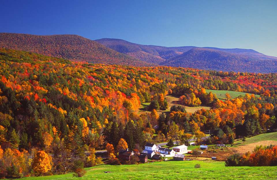 Mount Greylock Range in Massachusetts' Berkshires