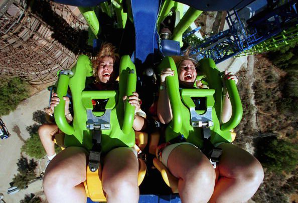 Deja Vu at Six Flags Magic Mountain