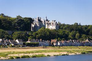 Landscape at Chaumont-sur-Loire, France