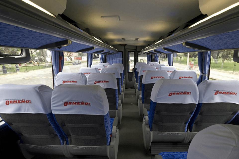 Empresa de autobuses Ormeño