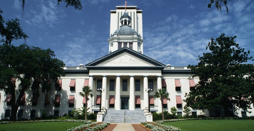 Florida State Capital building in Tallahassee
